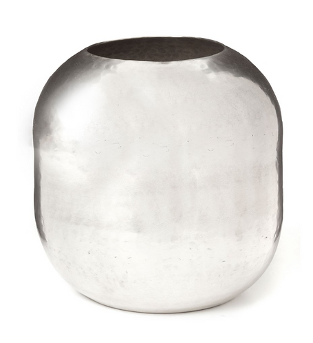 Silver Vase rounded