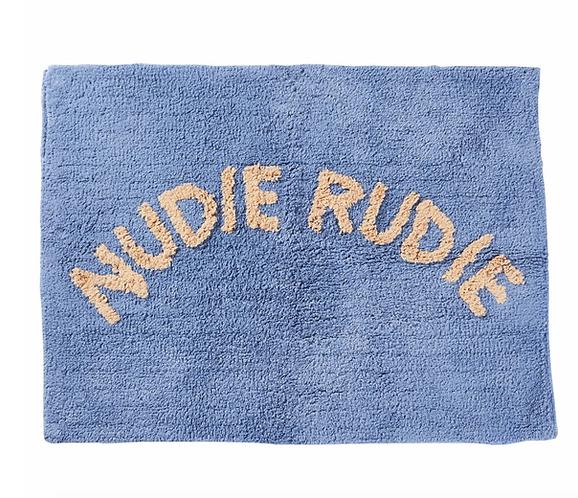 Sage & Clare Nudie Rudie  Bathmat -  Cornflower