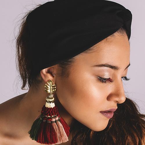 The Amazonian muse earrings
