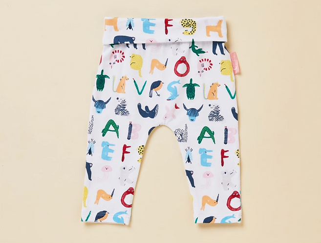 Halcyon Nights ABC of Animals - Yoga Legging