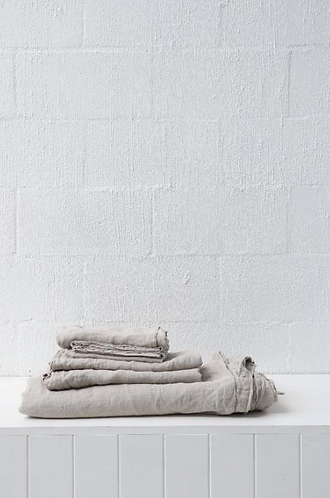 European linen quilt cover queen