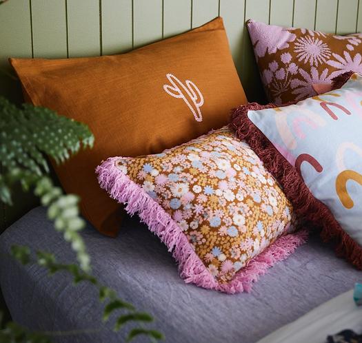 Sage & Clare Sevier cactus standard pillowcase