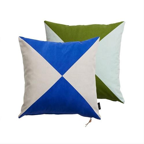 OYOY - Circus Cushion Blue/Green
