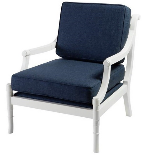 St. Bart In/Outdoor Armchair -Custom Fabric Selections