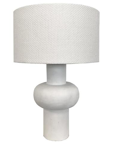 Oliver lamp - limed