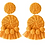 Thumbnail: Polka Co tassel drop earrings