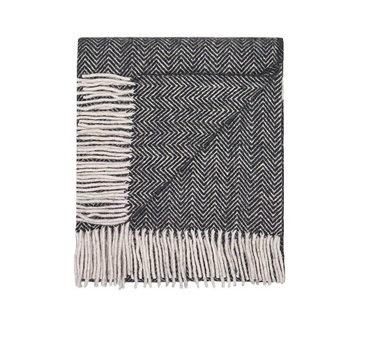 Herringbone Wool Throw
