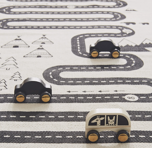 Oyoy Wooden No Rush Car Set