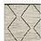 Thumbnail: NOOK Armadillo & Co. Nala Rug - Natural & Slate