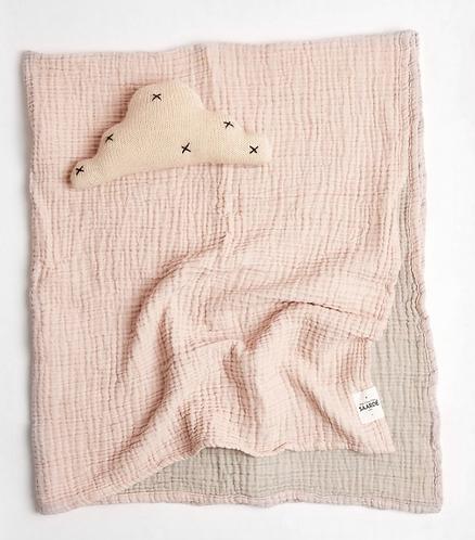 Saarde Crinkle Baby Blanket- Enes Mink