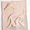 Thumbnail: Saarde Crinkle Baby Blanket- Enes Mink