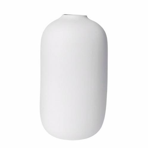 Taro White Organic Vase - Large