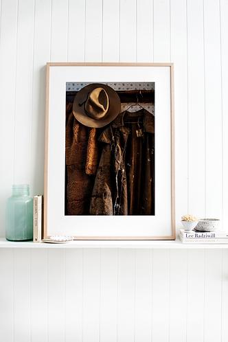 Coat Rack Photographic Print
