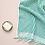 Thumbnail: Miss April Turkish Hand Towel - Green Lines