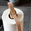 Thumbnail: Oak and leather paper towel holder