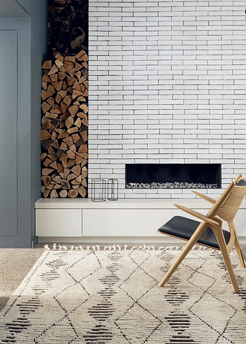 Armadillo & Co. Zulu Rug -Natural&Shale