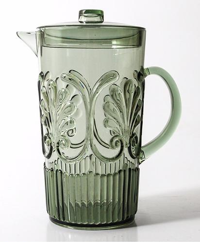 Acrylic Glassware Jug - Green