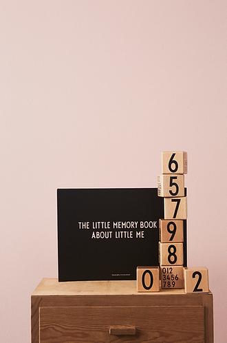 Designer Letters - Wooden Blocks 0-9