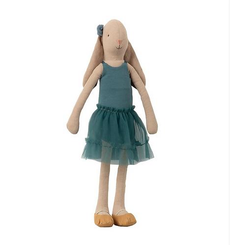 Maileg Bunny Size 3 - Ballerina Petrol Leotard