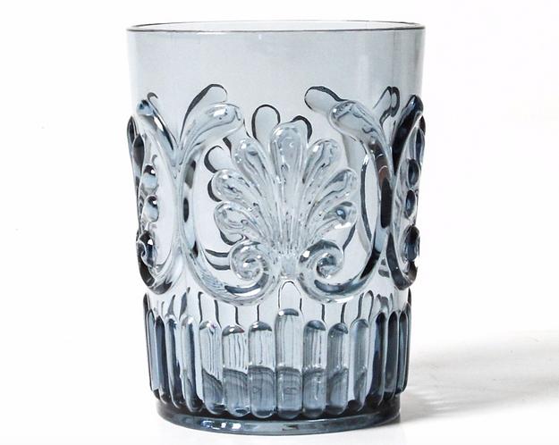 Acrylic Glassware - Blue