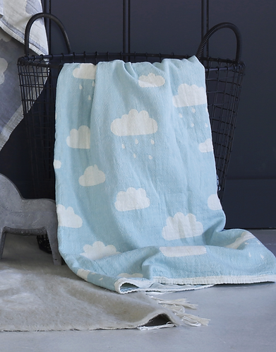 Cotton clouds blanket