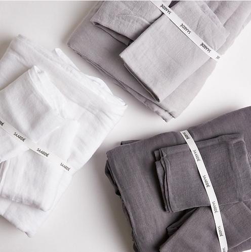 Saarde linen/cotton duvet set