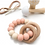 Thumbnail: Organic wood and silicone rattle