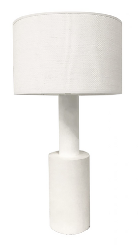 Bianca Tall White Wooden Lamp