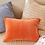 Thumbnail: Sage & Clare Mathilde Stripe Standard pillowcase set - Cantaloupe