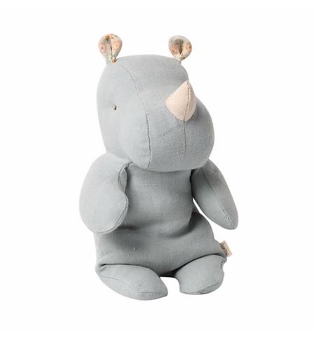 Maileg Small Rhino - Blue Grey