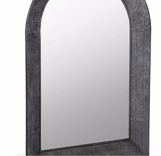 Zinc Frame Mirror -Large
