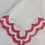 Thumbnail: Scalloped Linen Napkins Set/4 - Dahlia