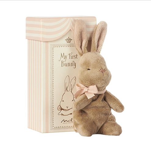 Maileg My First Bunny Pink - In Box