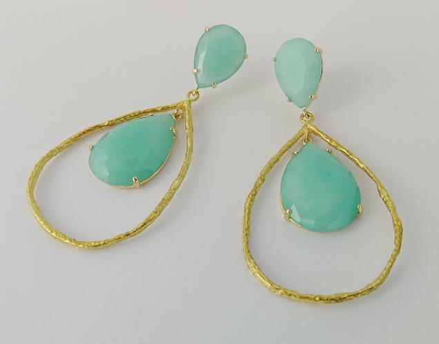 The jaded sea earrings