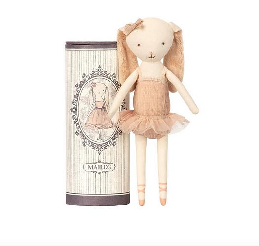 Maileg Ballerina Bunny in tube D
