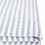Thumbnail: French Stripe European linen flat sheet King - Blue