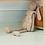 Thumbnail: Maileg Bunny Size 4 - Floral Jumpsuit