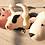 Thumbnail: Felt cows head