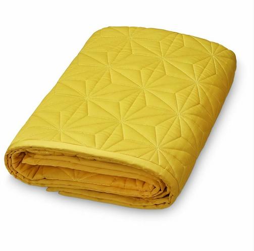 CAM CAM Signature blanket - Mustard