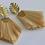 Thumbnail: Natural Palm Raffia Rhapsody Earrings