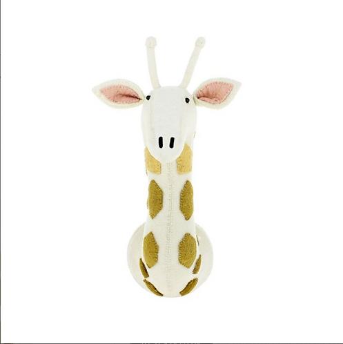 Felt giraffe head midi
