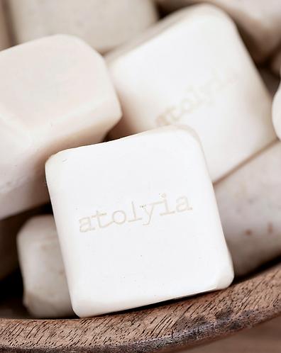 Natural olive oil soap bar