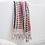 Thumbnail: Miss April Turkish Hand Towel- Pom Pom Multicoloured