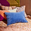Thumbnail: Sage & Clare Tanis Velvet Pillowcase - Cornflower