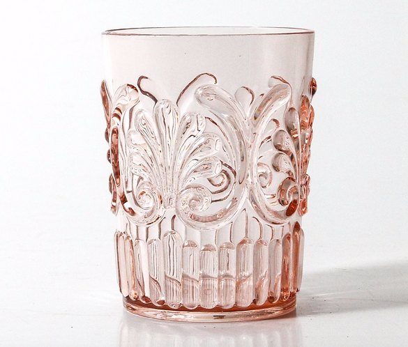 Acrylic Glassware - Pink