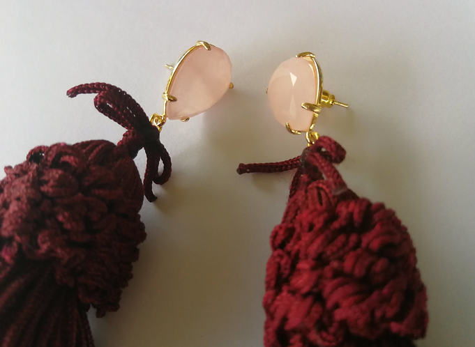 The Sangria earrings