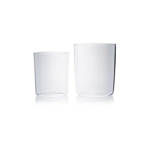French inspired goblet set 4 - Clear