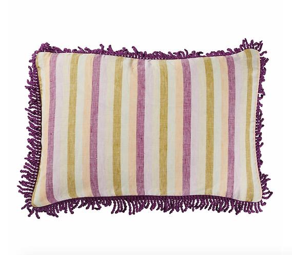 Sage & Clare -  Violette Fringe Cushion