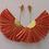 Thumbnail: Raffia rhapsody earrings