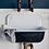 Thumbnail: Vintage Wash Cotton Bath Sheet - Grey